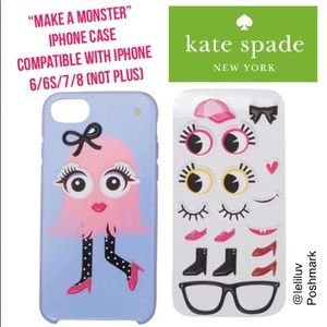 KATE SPADE Make a Monster iPhone 6/6S/7/8 case